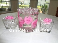 beautiful clear glass vase filler decor using high clear transparent clear water beads wholesale match underwater flower