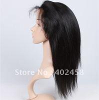 FREE SHIPPING Good quality  Fashion/  straight hair, 100% Indian  hair,  human hair , full lace wigs