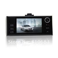 Auto/Car camera/DVR ,new H.264 format 720P HD resolution,2 million high-definition dual lens SOS emergency function