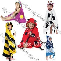 Free shipping wholesale Baby bathrobe/kids bathrobes/Baby/infant/kids/children Soft cotton Bathrobes/wear 20piece/lot