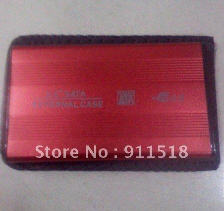 """HOT 2.5"""" USB 2.0 SATA HDD Hard Disk Drive w/ Enclosure Case HD Box ZI(China (Mainland))"""