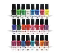 New style free shipping Wholesale Mini Nail Polish,nail enamel&nail polish16 colors