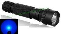 Free Shipping Ultrafire WF-501B Cree BLUE LED Flashlight Torch 6v 6p G2 501B Flashlight Torch