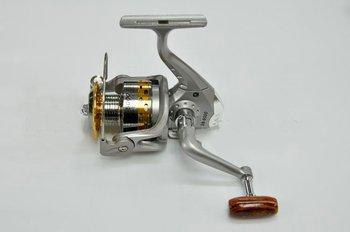 Wholesale fishing reels SG - 5000A fish round metal 6 Ball bearing spinning reel 5.1:1  fishing tackle 1PCS free shipping