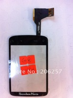 For HTC wildfire A3333 G8 Black Touch Screen Digitizer Glass Panel Replacement,30pcs/lot