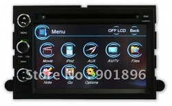 Pino Intelligent (2005-2007) Mercury Mariner Navigation System with digital TV touchscreen In Dash DVD Player(China (Mainland))