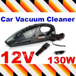 Protable 12 Volt Car Dust Vacuum Collector Cleaner Hand held Dust collecting machine with filter bag(China (Mainland))