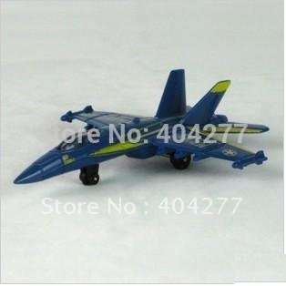 Matchbox Blue Fighter Zinc Alloy Toy Plane Airplane Toy Model