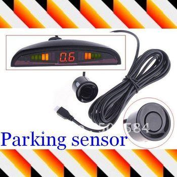 LED Display 4 Car Parking Sensor Reverse backup Radar System 12V ,Worldwide free shipping