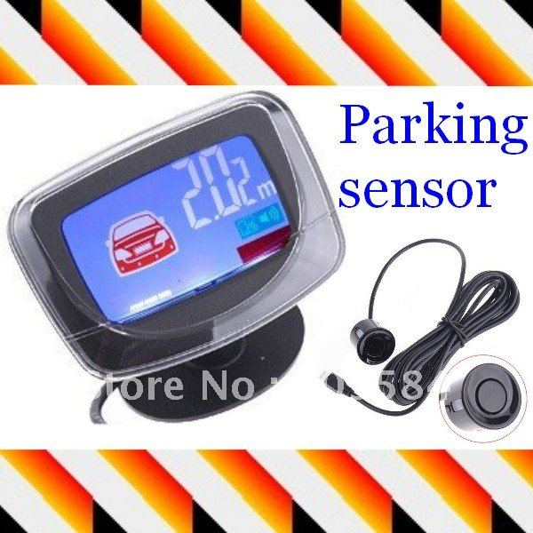 4 Parking Sensors LCD Car Backup Reverse Radar Kit(China (Mainland))