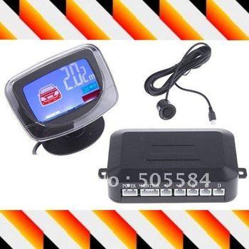 12v car parking sensor system LCD display Auto Rear reversing backup sensor Radar kit