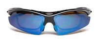 New Cycling bicycle Sports Sun Glasses With 5 lens huge stock