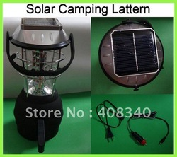 Wholesale!Solar Camping Lamp+36xLEDs+Hand Crank LED Light+Outdoor Lanttern+5 Different Power Ways 5pcs/lot EMS Free Shipping(China (Mainland))