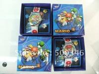 Wholesale New Super Mario Bros Fashion Wirst Watch Free Shipping YXL