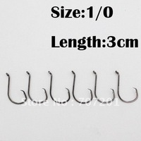60pcs M&X Fishing Chemically Sharpened Octopus Circle Hooks Fishing Tackle Size 1/0