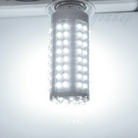 LED Bulb Lamp E27 Screw 110V 108 LED Corn White Light Bulb LED Lamp free shipping