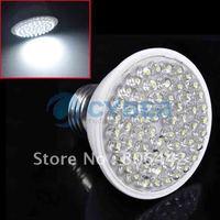 New 3W E27 60 LEDs Cold White Light LED Bulb Lamp 212LM 220V Free Shipping
