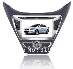 hyundai new Elantra 2011-2012 GPS Navigation/HD digital touchscreen/RDS/PIP/Built-in DVB-T optional(China (Mainland))