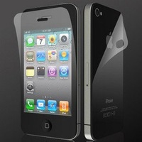 free shipping 10pcs high clear lcd screen protector for iphone 4/4s