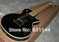 Black Beauty Custom 2 Pickups Maple Fingerboard Electric Guitar Best Free Shipping