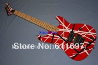 2012 new arrival + free shipping + guitar builder + Krama custom EVH electric guitar, Krama EVH 5150 van hallen electric guitar