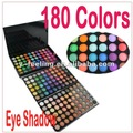 Free shipping!! 180 Color Palette Cosmetic Eyeshadow palette with 3 colorful palettes inside Dropshipping!~ 180-02#