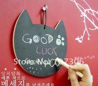 Free Shipping/Wholesale dry eraser writing board/Wood frame magnetic black board/ kids chalkboard