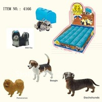 3D PUZZLE ANIMAL ( 4 ASSORTED DOGS  #4166 )