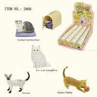 3D PUZZLE ANIMAL ( 4 ASSORTED CAT  #2866 )