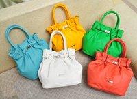 HB628  SWEET Colorful Leather Crossbody Messenger Lock Handbag Satchel  Cute free shipping