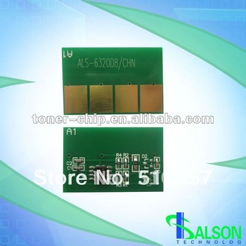 Compatible Toner cartridge chip for Samsung 6320