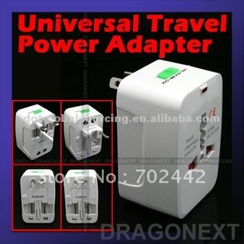 Hot Selling All In One Stand-by Universal World Travel Power Charger Adapter Converter