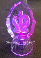 Best selling Free Shipping Crystal Christian Gifts Iceberg,design OEM logo OEM