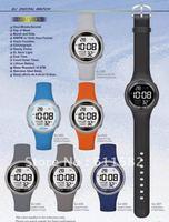 Model GJ: LCD watch with EL light