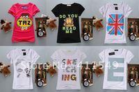 Free shipping Women new fashion Cotton O-neck Short sleeve t-shirt Leisure Primer Slim Tops outerwear t shirt