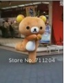 customized Rilakkuma bear mascot costumes dress free shipping