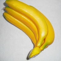Free Shipping Simulation banana Artificial Fruit Banana string Include 5 Pieces Wedding Festival Home Decoration Hot Selling