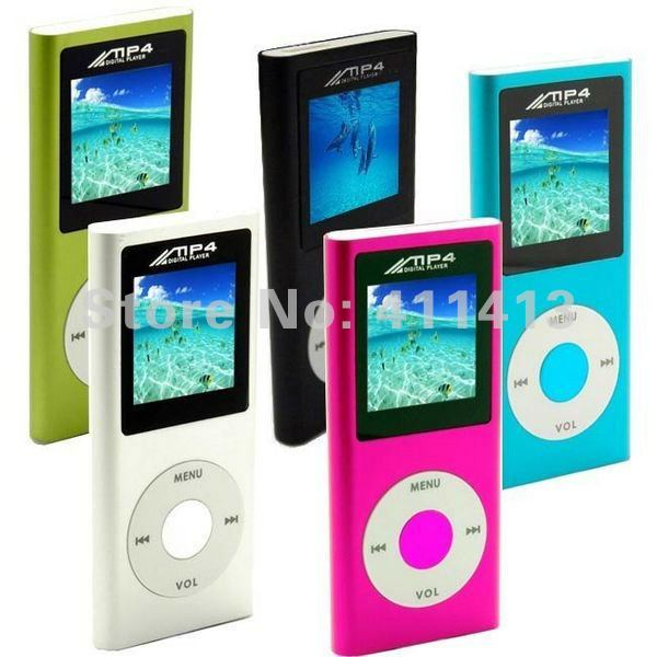 Wholesale - popular 200pcs/lot 4th Gen MP3 MP4 player 1.8 inch screen 16GB,free shiping+Top quality(China (Mainland))