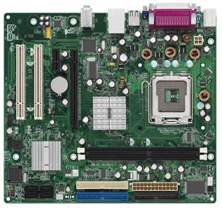Free Shipping For intel motherboard D101GGC RX200 for intel desktop motherboard supporting P4 DDR2 MATX PCI-E HOT selling!