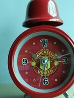Wholesale Football fans gift/Teams personality Alarm Clock/ 84mm single bell alarm clock 20ps/lot free shipping