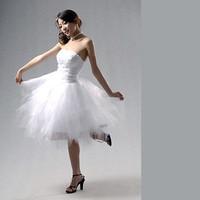 Thepassionate tube top ballet short design natural bulkness formal dress 1002