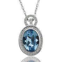 Hot sale 18K Gold Plated crystal necklace for swarovski , #GN058