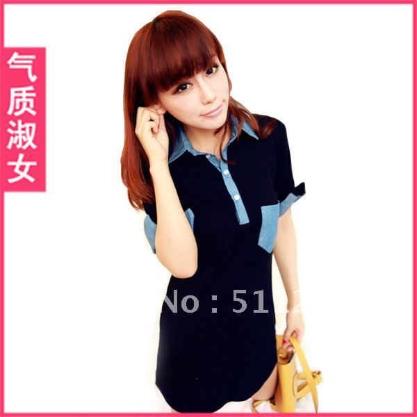 Women's 2012 summer candy color double breasted collarless half sleeve suit 4 spring blazers, sportswear, FREE SHIPPING