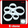 Free Shipping New 6PCS Round Shape Cake Decorating Cookies Cutter Paste Sugarcraft Mold Tool