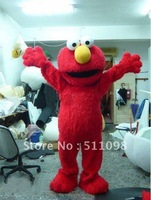 Long Fur Elmo Mascot Costume Character Costume Cartoon Costume Free Shipping