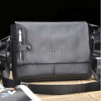 2012 NEW ARRIVAL EXCELLENT QUALITY  Genuine Leather Fashionable man bag Recreation bag  100% Hot sell !!!FREE SHIPPING