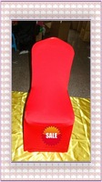 Free shipping -Top quality red spandex chair cover/lycra chair cover