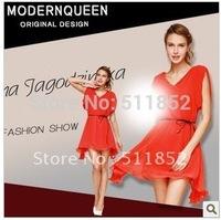Free shipping long chiffon dress ,  fashion style   summer  women's dress  ladies' dress, #9102
