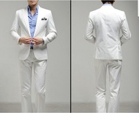 2012 spring men's suit men cultivating the Korean version of the white wedding dress DF3457878