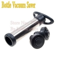 Pump Style Red-Wine Bottle Vacuum Sealer with 2 Stopper LS0048